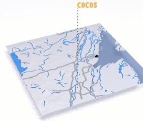 3d view of Cocos