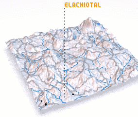 3d view of El Achiotal