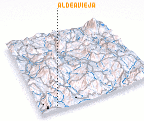 3d view of Aldea Vieja
