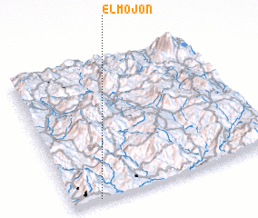 3d view of El Mojón