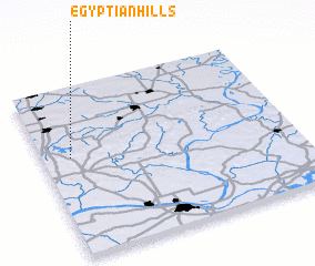 3d view of Egyptian Hills