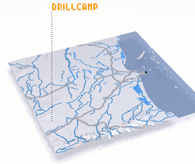 3d view of Drill Camp