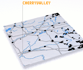 3d view of Cherry Valley