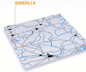 3d view of Goreville