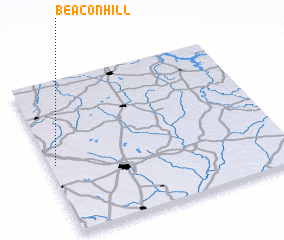 3d view of Beacon Hill