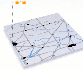 3d view of Hudson