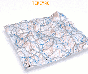3d view of Tepeyac