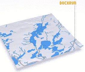 3d view of Duck Run