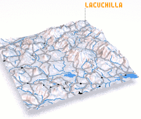 3d view of La Cuchilla