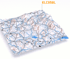 3d view of El Conal