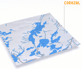 3d view of Corozal