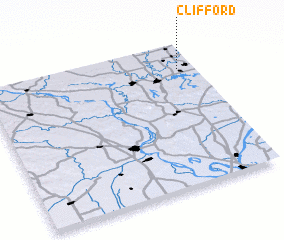 3d view of Clifford