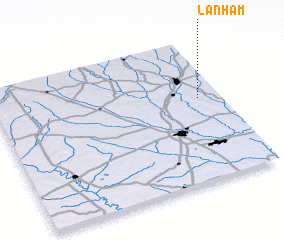 3d view of Lanham