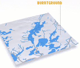 3d view of Burnt Ground