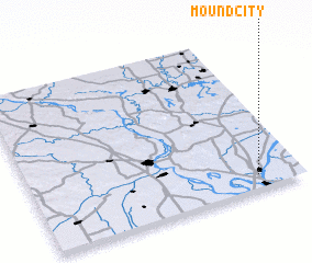 3d view of Mound City