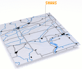 3d view of Shaws