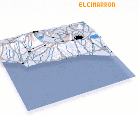 3d view of El Cimarrón