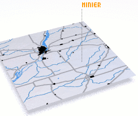 3d view of Minier