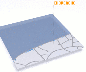 3d view of Chovenché