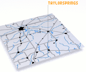 3d view of Taylor Springs