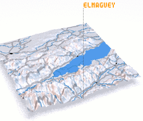 3d view of El Maguey