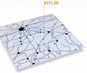 3d view of Butler