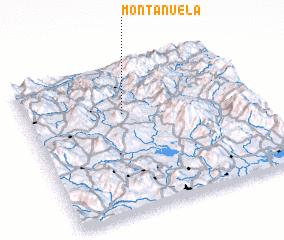 3d view of Montañuela