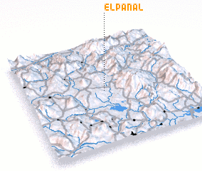 3d view of El Panal