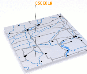 3d view of Osceola