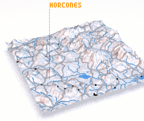 3d view of Horcones