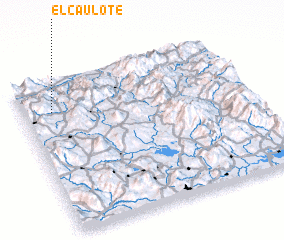 3d view of El Caulote