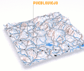 3d view of Pueblo Viejo