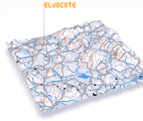 3d view of El Jocote