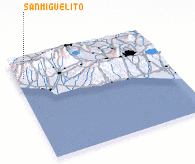 3d view of San Miguelito
