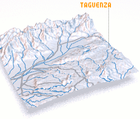 3d view of Taguenza