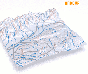 3d view of Andour