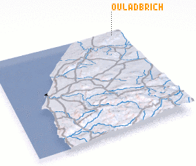 3d view of Oulad Brich