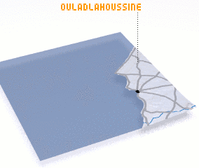 3d view of Oulad Lahoussine