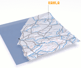 3d view of Kahla