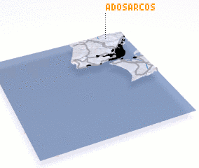 3d view of A dos Arcos