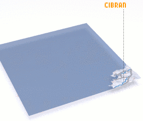 3d view of Cibrán