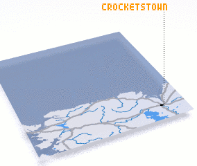 3d view of Crockets Town