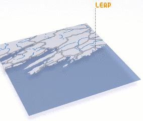 Leap (Ireland) map - nona.net on