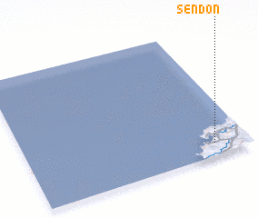 3d view of Sendón