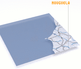 3d view of Mouguela