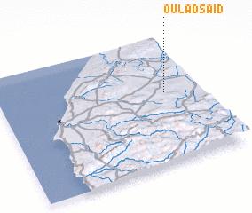 3d view of Oulad Saïd