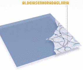3d view of Aldeia Senhora da Gloria
