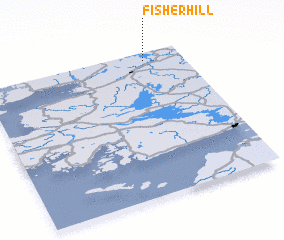 3d view of Fisherhill
