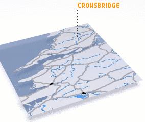 3d view of Crow's Bridge