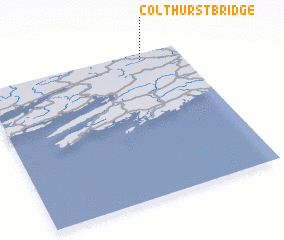 3d view of Colthurst Bridge